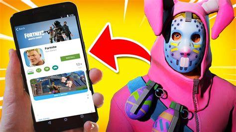 fortnite android release date fortnite mobile
