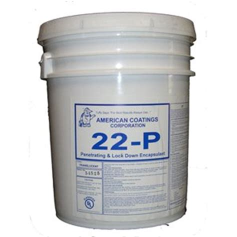 american coatings p lock  penetrating encapsulant