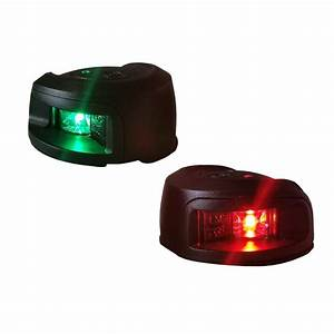 Red  Green Navigation Lights