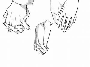 How To Draw Anime Hands   Holding Hands by ~Benulis on ...