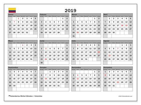 calendario  colombia calendario  imprimir