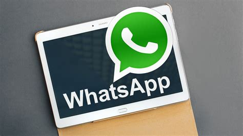 whatsapp on your tablet now available from the play store androidpit