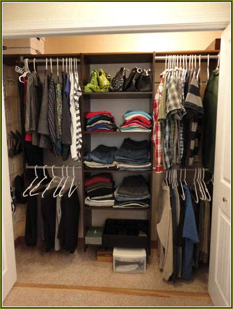 simple metal closet organizers do it yourself