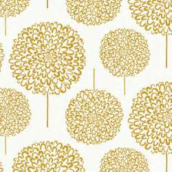 Red Dot Rugs by Hydrangea Wallpaper Gold Contemporary Wallpaper