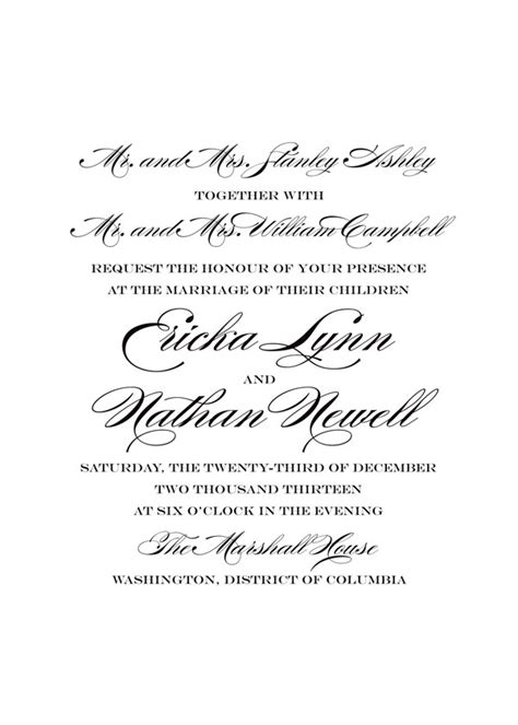wedding invitation sayings say it with style wording wedding invitations