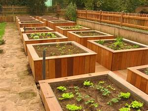 Bac En Bois Pour Potager : bac pour jardins ~ Dailycaller-alerts.com Idées de Décoration