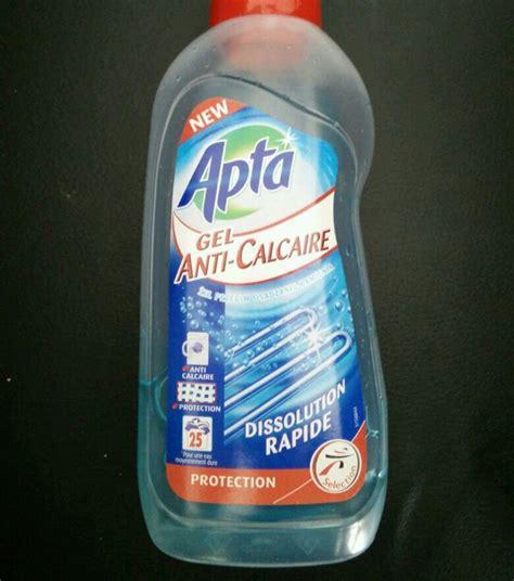 apta gel anti calcaire pour lave linge le bidon de 750 ml tous les produits lavage