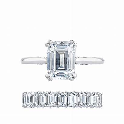 Ring Engagement Tacori Rings Emerald Whowhatwear Combos