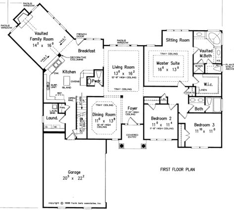 house plans with kitchen in front one floor plan bedroom 2 the study somehow