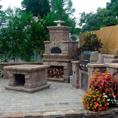 chicago brick oven  outdoor pizza oven kit outdoor