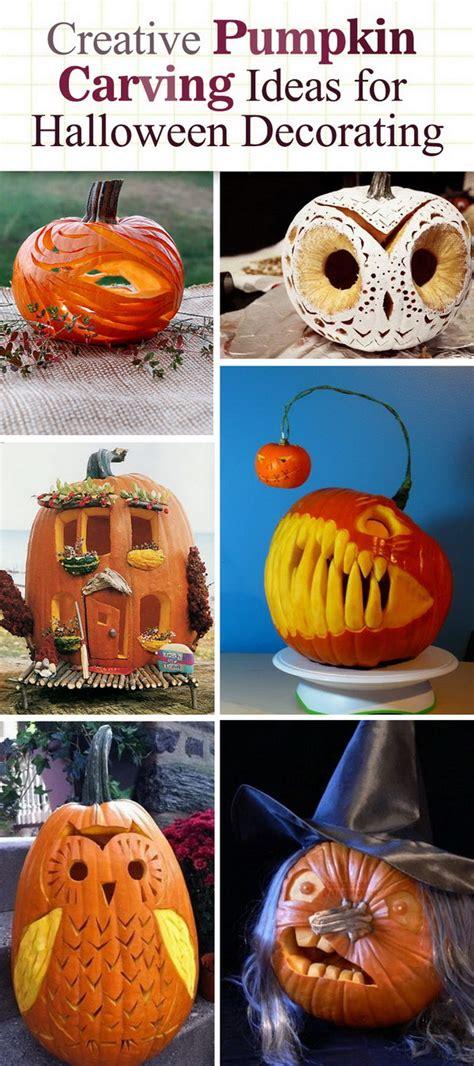 Creative Pumpkin Decorating Ideas by Creative Pumpkin Carving Ideas For Decorating 2017