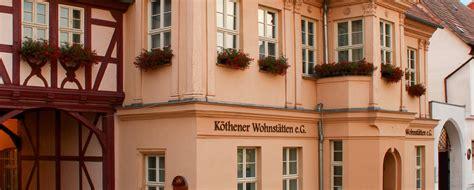 Köthen Wohnung by Vermietung Wohnen In K 246 Then Bei Der K 246 Thener Wohnst 228 Tten E G