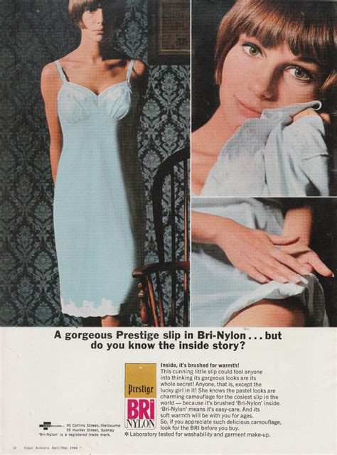 brushed bri nylon slip  flashbak