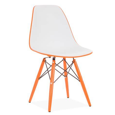 uitverkoop eames stoelen stoel wooden bicolor edition design stoelen dsw