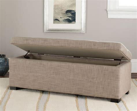 large storage bench hud8226m benches furniture by safavieh