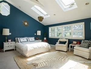 chambre bleu canard et gris chaioscom With chambre bleu et beige