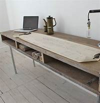 reclaimed wood desk Reclaimed wood and metal desk | Made By Wood