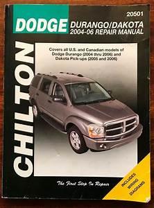 Chilton Dodge Durango Dakota 2004