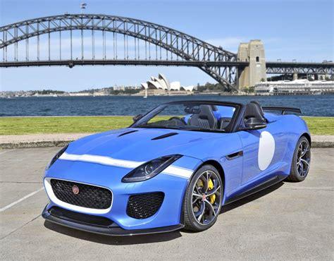 limited edition jaguar  type project  destined  australia