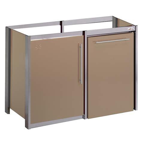 moderna cuisine meuble métalline métal thermolaqué 120x60 1 porte