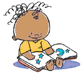 cartoon baby reading – Montgomery County-Norristown Public ...