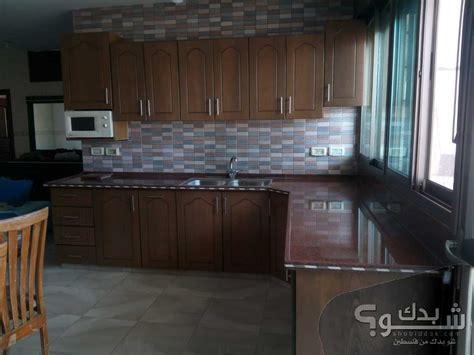 تصميم مطبخ جميل لون بيج. مطبخ مستعمل كامل | شو بدك من فلسطين؟