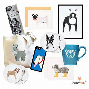 Modern dog themed gifts and decor from fancy huli dog milk for Dog related home decor