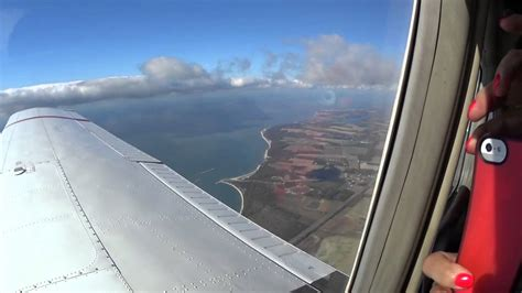 Flying Over Chesapeake Bay Bridge And Tunnel
