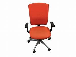 Chaise De Bureau Orange Occasion Adopte Un Bureau