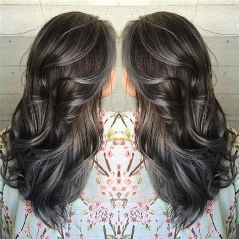 gray highlights ideas  pinterest silver