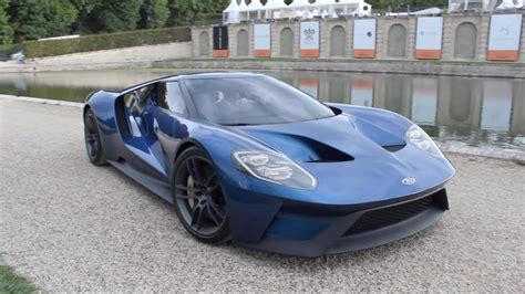 Ford Gt by 2016 New Ford Gt Start Up Reving Sound
