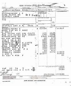 1957 ford thunderbird With ford factory invoice