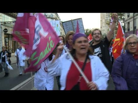 siege aphp avenue manifestation de personnel de l 39 aphp