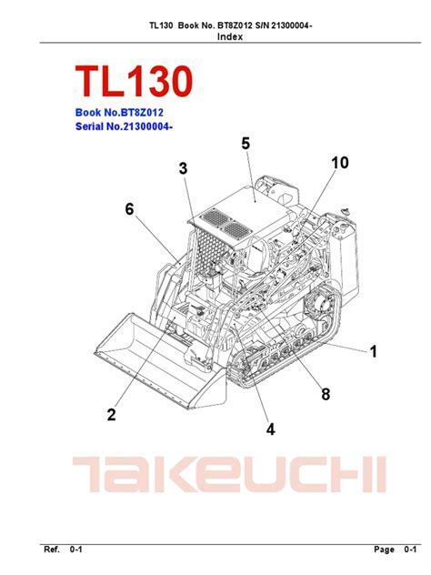 takeuchi parts manual tl btz