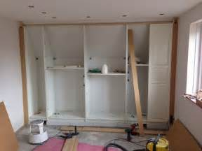 kleiderschrank selber bauen pax built in for sloping ceiling ikea hackers ikea hackers