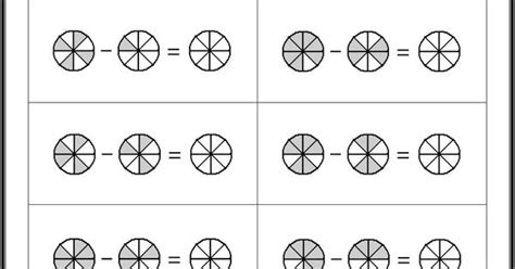 Subtracting Fractions Worksheets  What's New  Pinterest  Fractions Worksheets, Worksheets And
