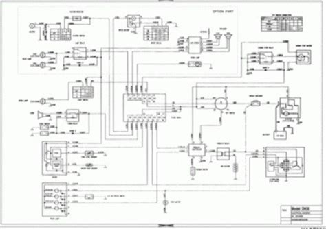 doosan dxlc dxlc excavator electrical hydraulic
