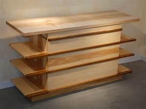 Mobilier Bois Design : meubles de salle de bain atelier pourquoi pas mobilier design sur mesures ~ Melissatoandfro.com Idées de Décoration