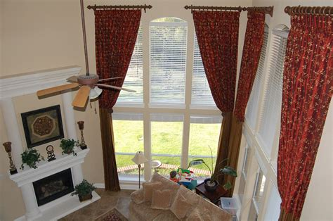 Amusing Curtains For Large Windows Picture Window