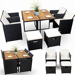 Rattan Sitzgruppe Günstig : kleine rattan sitzgruppe balkon set polyrattan sitzgruppe g nstig xl 4 4 1 schwarz 18 tlg ~ Indierocktalk.com Haus und Dekorationen