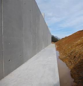 Mur En Béton : mur de sout nement b ton pr fabriqu maison bleue pr fabrication b ton ~ Melissatoandfro.com Idées de Décoration