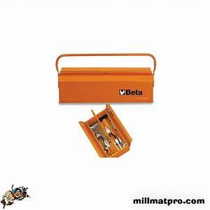 Caisse A Outils Metal : caisse outils m tal 450mm beta beta bet 021180001 ~ Dode.kayakingforconservation.com Idées de Décoration