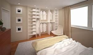 Schlafzimmer Mit Begehbarem Kleiderschrank : schlafzimmer idee kleiderschrank ~ Sanjose-hotels-ca.com Haus und Dekorationen