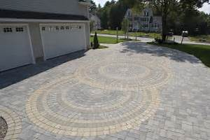 Image of: Paver Driveway Local Leader Driveway Design With Your Own Style