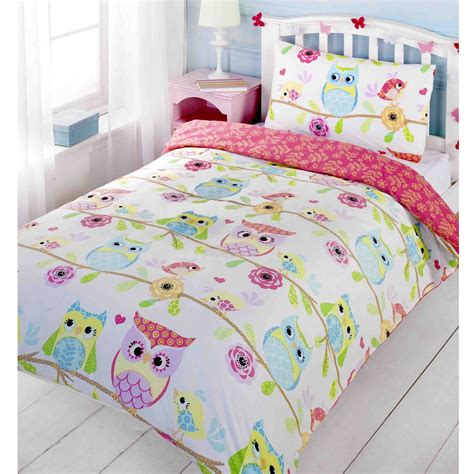 Owl Bedding by Owl Themed Duvet Cover Sets Available In Junior Single