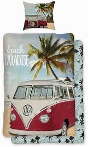 Vw Bulli Bettwäsche : volkswagen bettw sche vw bulli t1 beach paradise renforc ~ Orissabook.com Haus und Dekorationen