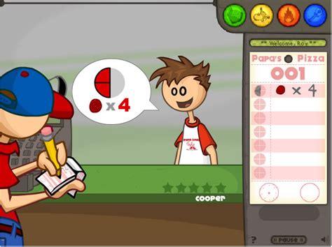 jouer 224 papa s pizzeria jeux gratuits en ligne avec jeux org