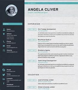 Designer Resume Template Resume Builder