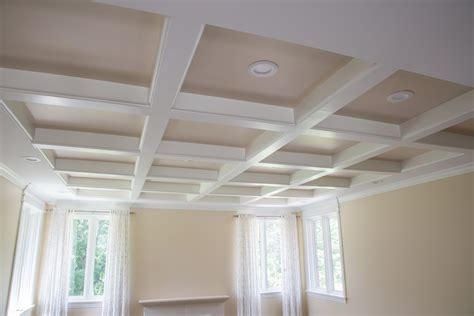 Simple Coffered Ceiling by Designing A Coffered Ceiling Is Simple And Affordable With