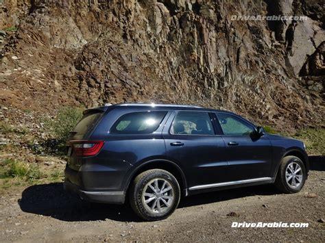 2018 Dodge Durango In The Uae 2 Drive Arabia